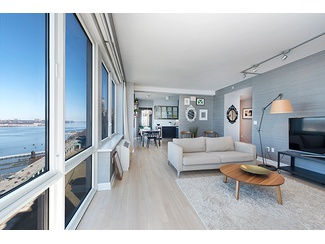 Investment   only -----Unobstructed Hudson waterfront views from this high floor Three Bedroom on the Upper West Side of Manhattan